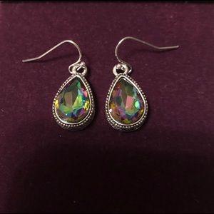 Jewelry - Drop rainbow earrings